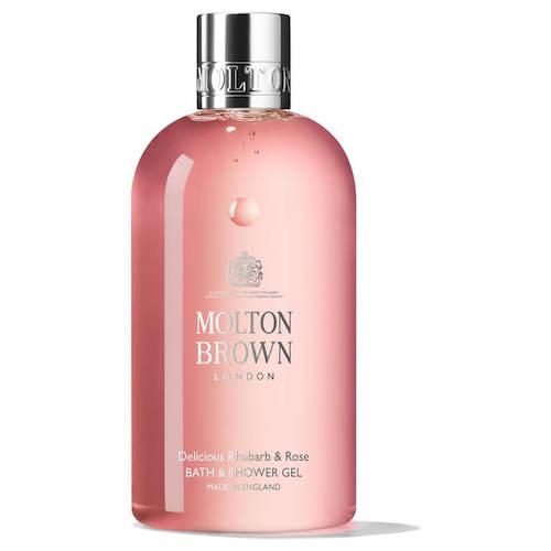 【ネタバレ】2020年ルックファンタスティックアドベントカレンダーの内容と絶対お得に買う裏技 Molton Brown(モルトンブラウン)/Rhubarb & Rose body wash 100ml (Deluxe size)(日本向け価格:¥3,600/300ml)