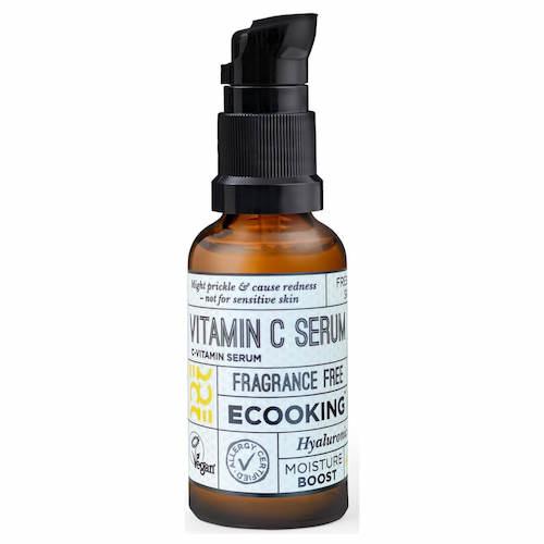 【ネタバレ】2020年ルックファンタスティックアドベントカレンダーの内容と絶対お得に買う裏技 ECooking(イークッキング)/Vit C serum 10ml (Deluxe size) £21.50(日本向け価格:¥5,999/20ml