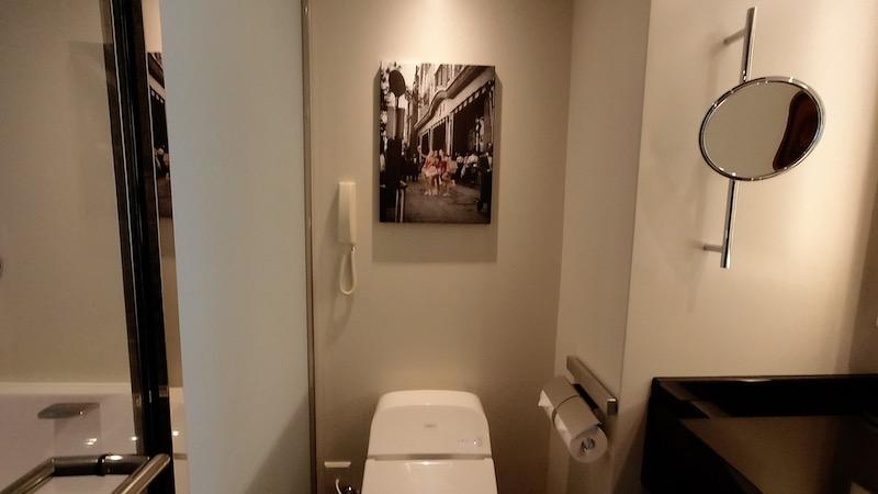 【コロナ禍2020年9月】ヒルトン東京エグゼクティブ&マーブルラウンジと最上階38階宿泊記 トイレ