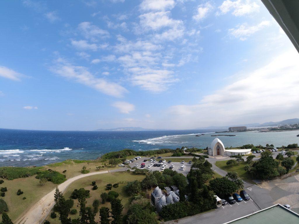 【大浴場もプールも!】沖縄ANAインターコンチネンタル万座クラブルーム・ラウンジ・朝食レポ 眺望 日中