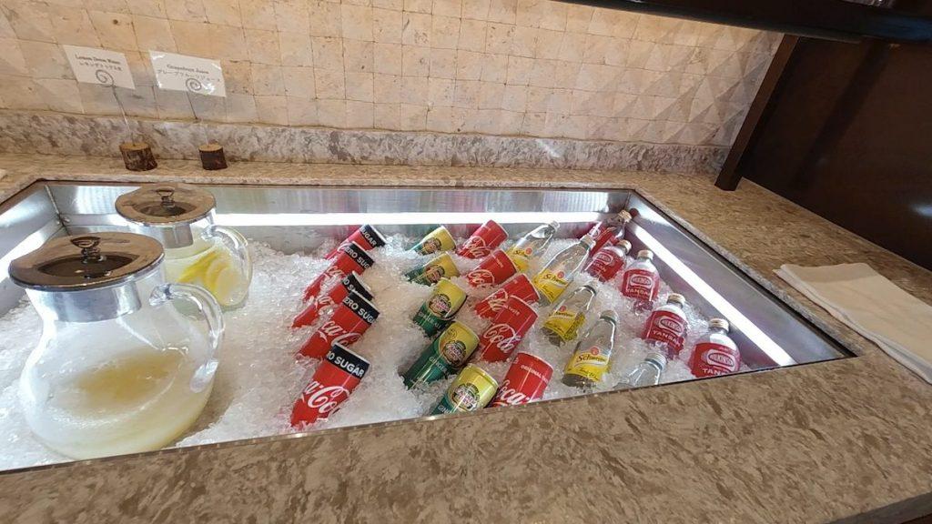 【大浴場もプールも!】沖縄ANAインターコンチネンタル万座クラブルーム・ラウンジ・朝食レポ  コールドドリンク