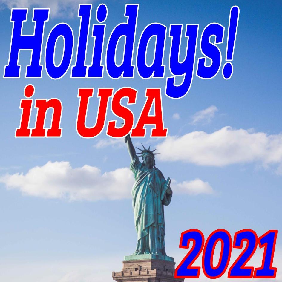 【セールも開催?】日本人も知るべき2021年アメリカの祝日一覧!イースター、感謝祭は?