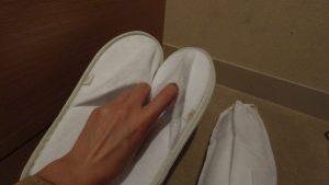 【最安値?】インターコンチネンタル大阪クラブフロア宿泊記【アクセス・プール】  スリッパ