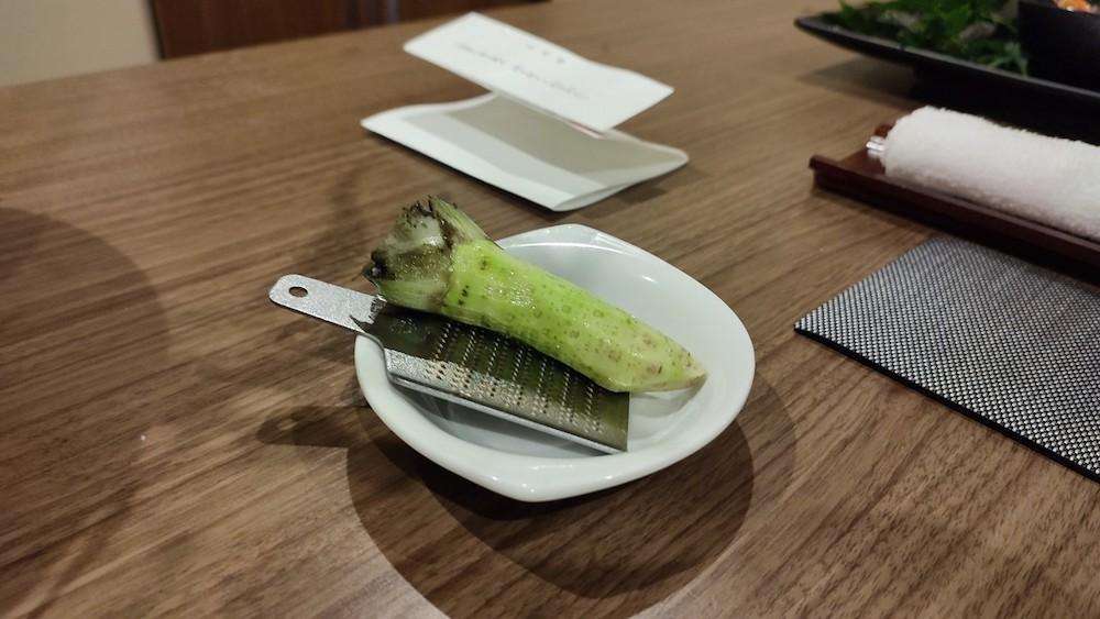 ki)の料理(お食事)季さら別邸刻(Toki) 夕食レビュー  海幸 生山葵